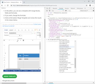 TX Text Control .NET Server for ASP.NET X16