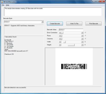 Barcode Xpress ActiveX v12.2