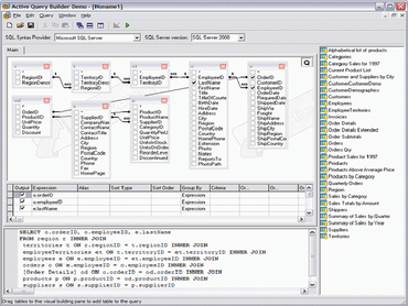 Active Query Builder for ActiveX v1.29.3