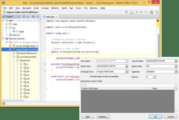 Aspose.Tasks for Java V19.3