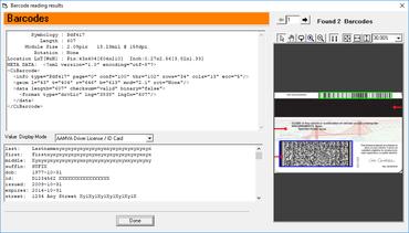 ClearImage Barcode Reader SDK v9.0
