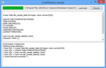 Database Comparer VCL for Delphi, C++Builder V7 1 916 0