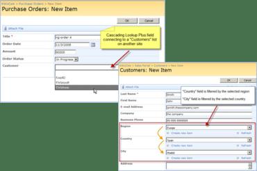 KWizCom SharePoint Cascading Lookup Plus v15.3.70