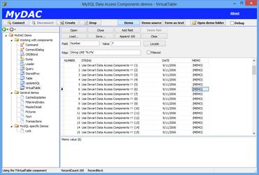 MySQL Data Access Components (MyDAC) 10.0.1