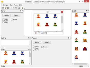 Codejock Docking Pane Visual C++ MFC v19.0.0