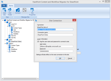 HarePoint Content e Workflow Migrator v3.4.19182