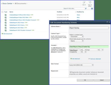 SharePoint Document Number Generator v2.8.923.0