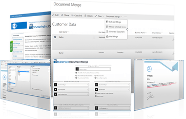 SharePoint Document Merge V6.0.0.0