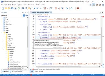 Oxygen XML Editor Enterprise V22