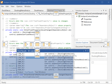 Actipro Docking & MDI for WPF 2019.1 build 0685