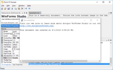Actipro WinForms Studio 2020.1 build 0401