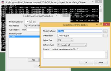 Web Interface v6.0 MR4 for AH Formatter