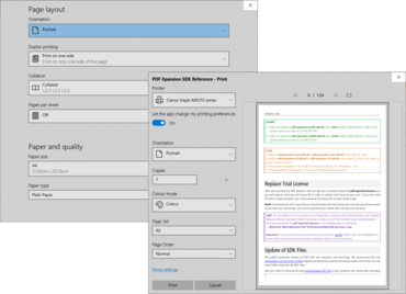 PDF Xpansion SDK - PDF Document Printer 14.2.4