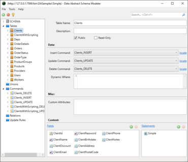 Data Abstract for Java 10.0.0.1481