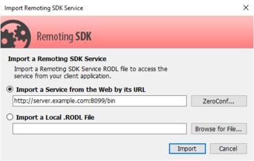 Remoting SDK 10.0.0.1481