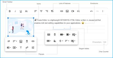 Froala Editor v3.1.1