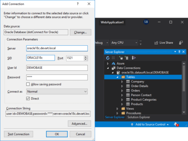 dotConnect for Oracle V9.13.1107