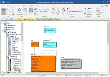 ER/Studio Data Architect for Oracle 18.5