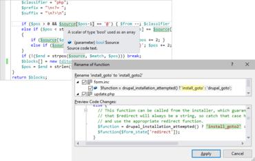 PHP Tools for Visual Studio v1.40.12307