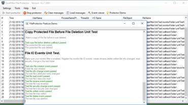 EaseFilter File System Control Filter Driver SDK v5.0.6.4