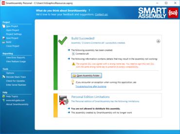 SmartAssembly 8.0.1