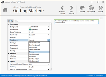 Actipro Grids for WPF 21.1.0