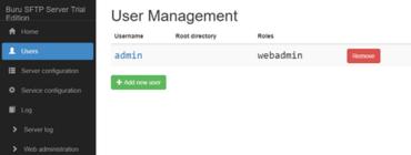 Rebex Buru SFTP Server 2.3.0