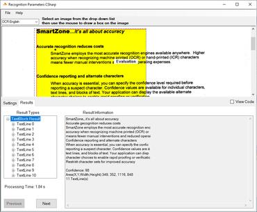 SmartZone ICR/OCR Standard v6.1