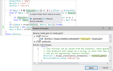 PHP Tools for Visual Studio v1.56.14305