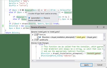 PHP Tools for Visual Studio v1.56.14385