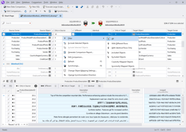 dbForge Data Compare for SQL Server V5.1.72
