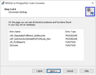 SQL Server to PostgreSQL Code Converter v1.3