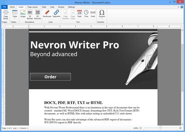 Nevron Writer Pro released
