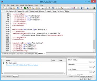 XML ValidatorBuddy released