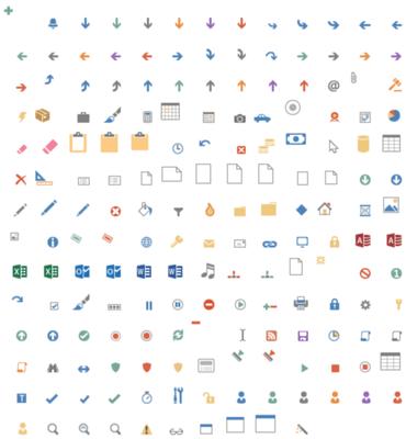 Actipro Icons Metro Elements released