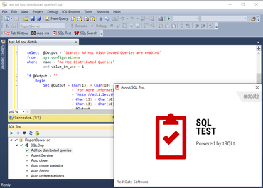 SQL Test 1.5 released