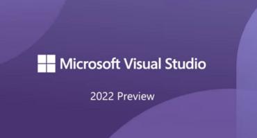 Visual Studio 2022 Preview 4.1を使用可能