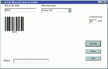 New dBarcode DLL V5.21 editions released