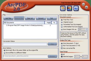 PEERNET updates ArcPDF