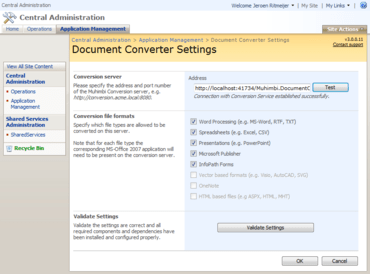 PDF Converter for SharePoint updated