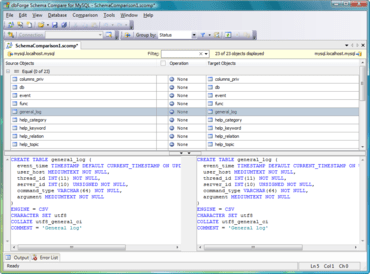 dbForge Schema Compare for MySQL updated