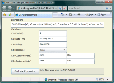 USPExpress supports common math rounding