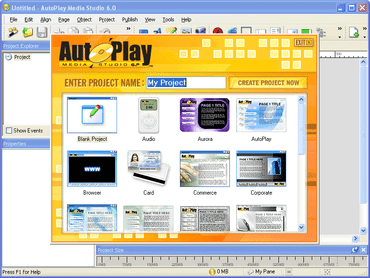 AutoPlay Media Studio supports Blu-ray