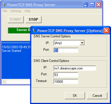 PowerTCP Server now supports all DEP OSs