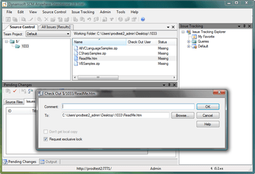 SCM Anywhere improves VS2010 support