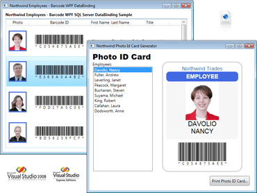 WPF barcode component adds symbologies
