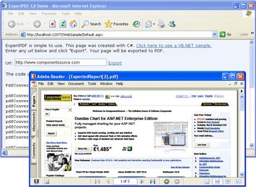 HtmlToPdf Converter adds .NET 4 samples