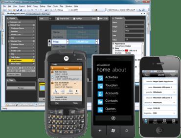 MobileApp Studio supports iPad + iPhone