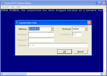 PowerTCP Telnet supports all DEP OSs