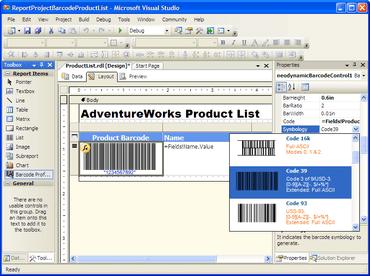Barcode Professional adds GS1 DataMatrix